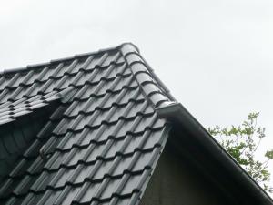 Frisch gedecktes Dach