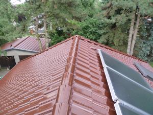 Satteldach mit Solar
